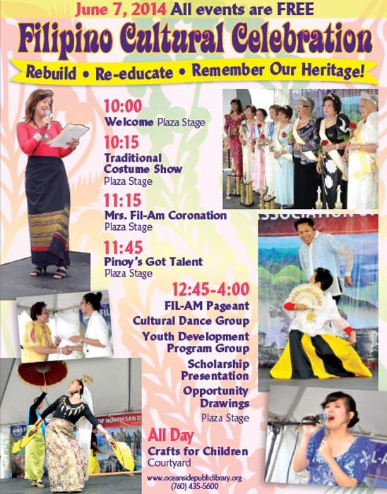 2014 14th filipino cultural celebration poster 1 min