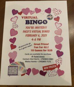 feb 2021 virtual bingo 1 min