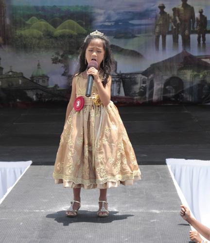 2011 little ms fil am talent serquena