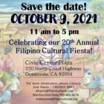 Save the Date! 20th Annual Filipino Cultural Fiesta
