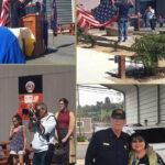Oceanside Fire Department hosts flag burning ceremony